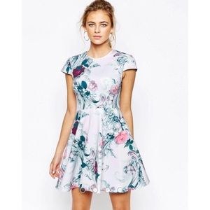 Ted Baker Keiley fit and flare floral dress